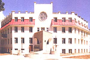 head sanatorium of Ministry of Health of Ukraine ` the Eaglet `, Evpatoria, Crimea