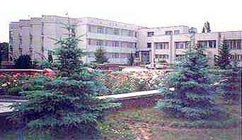 children's sanatorium ` Smaragdovyj `, Evpatoria, Crimea